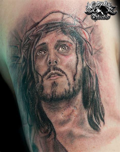 jesus had a tattoo jesus by newagetattoo on deviantart