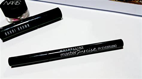 Maybelline Eyeliner Pen maybelline master precise ink pen eyeliner review fancieland