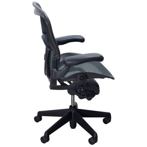 Aeron Chair White by Herman Miller Aeron Used Size B Task Chair Jade