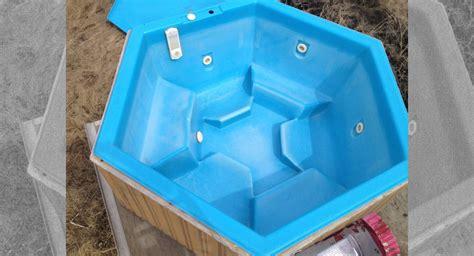 woodwork hexagon hot tub  plans
