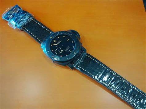 Jam Tangan Pria Panerai Luminor Submersible Ceramica Ref 663 panerai pam 508 p ceramic limited edition 500pcs world