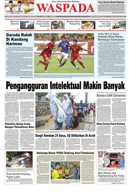 Kandang Ebd No 2 Tanpa Logo waspada minggu 2 desember 2012 by harian waspada issuu