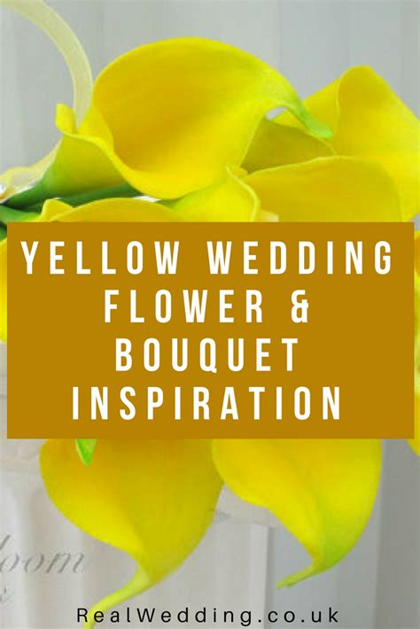 Wedding Inspiration Uk by Yellow Wedding Flower Bouquet Inspiration Real Wedding