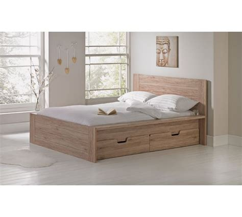 Bed Frames Seattle Buy Collection Seattle 2 Drw Storage Bed Frame Warm Oak At Argos Co Uk Your