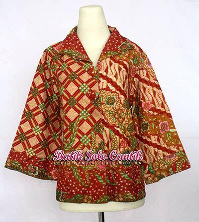 Busana Atasan Ruffle 4 Top Termurah model blouse batik keris mexican blouse