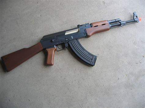 ebay airsoft double eagle metal ak 47 aeg airsoft gun 400 fps wood ebay
