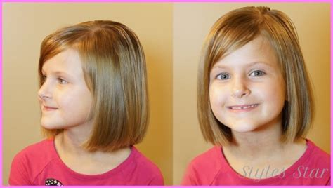 short hair cuts for 6 year olds year old girl short haircuts stylesstar com