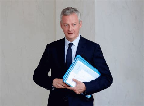 Cabinet Bruno Le Maire by Brexit Promises New Court To Handle