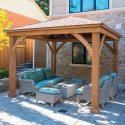 Backyard With Firepit by Best 25 Gazebo Ideas Ideas On Pinterest Pergola Ideas