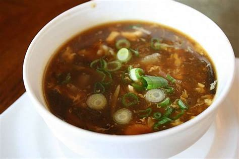 vegetarian and sour soup recipe and sour soup recipe dishmaps