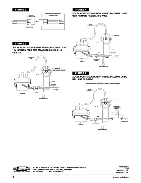 accel distributor wiring diagram efcaviation