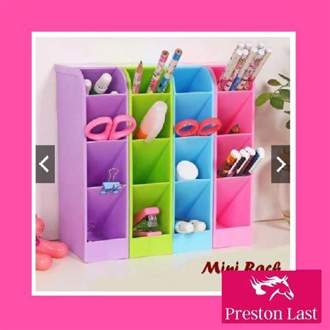 Rak Kosmetik Mini rak mini meja sekat kosmetik alat tulis stationery kantor