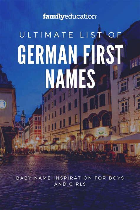 german  names   german baby names