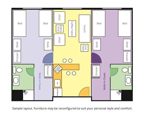Room Layout Online Free room layouts saint xavier university