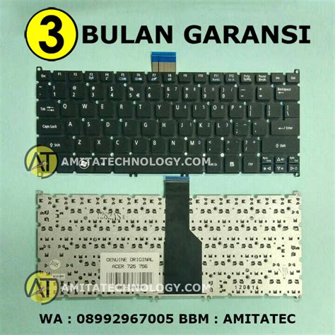 Original Keyboard Acer E1 431 E1 471 Travelmate 4740 4740z amita technology baterai laptop surabaya