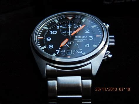 Stop Beat Sporty Original jam seiko chronograph 7t94 0bl0 sold