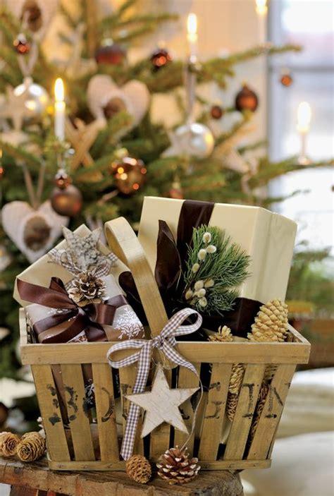 rustic gift basket rustic christmas pinterest gift