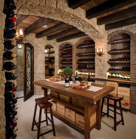 wine cellar and tasting room rustic wine cellar tasting room mediterranean wine cellar san diego by kw designs