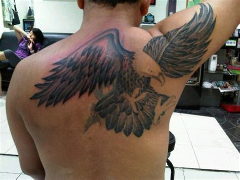 back eagle tattoo designs eagle tribal eagle designs pictures ideas