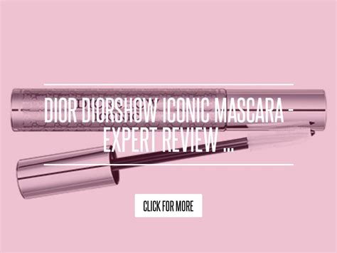 Diorshow Backstage Mascara Expert Review by Diorshow Iconic Mascara Expert Review