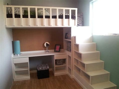 stair loft bed with desk loft bed and desk with shelves as stairs yes money is