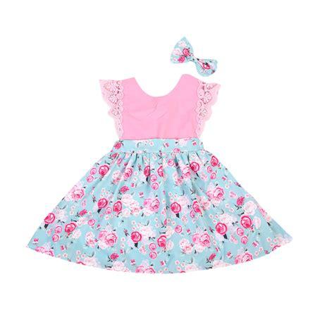2016 new style baby fashion dress clothes headband 214y 2016 new fashion summer dress children floral