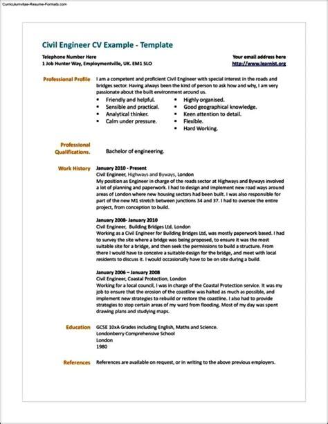 uk resume template resume template uk free sles exles format