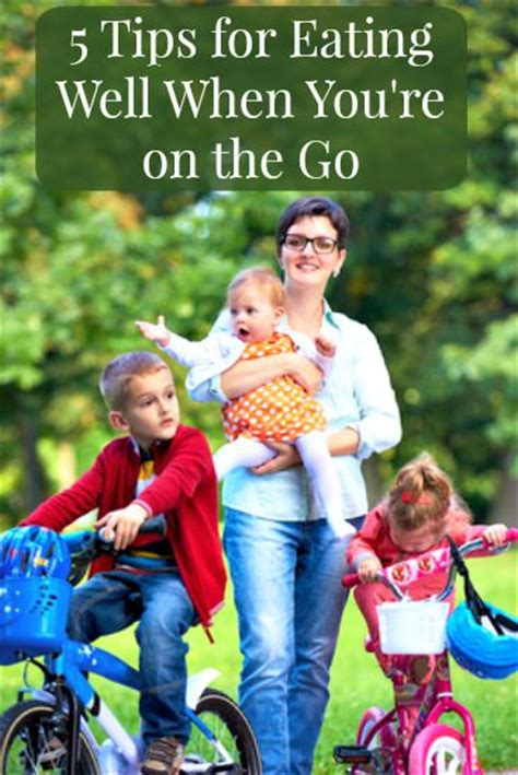 Tips For Healthy On The Go by 5 Tips For Healthy On The Go