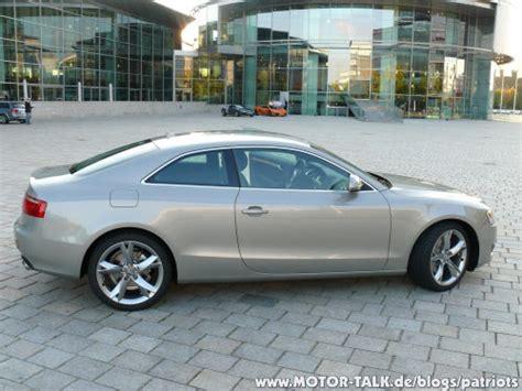 Audi Abholung Ingolstadt by Bilder A5 In Saharasilber Patriots
