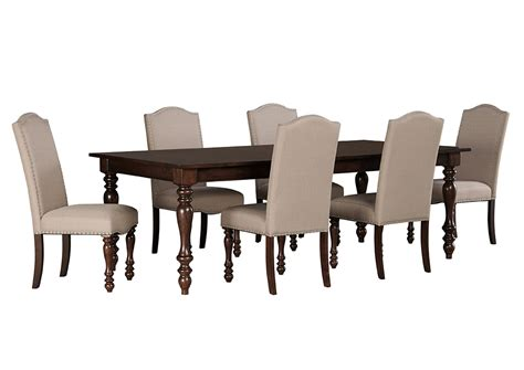 side chairs for dining room ivan smith baxenburg brown rectangular dining room