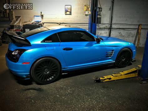 Chrysler Crossfire 2004 by 2004 Chrysler Crossfire Rotiform Ind T Eibach Lowering Springs