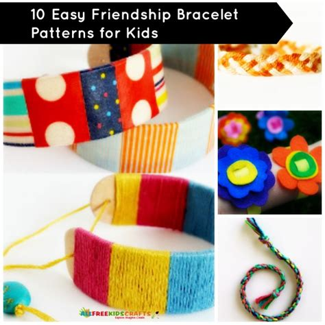easy friendship crafts for beaded friendship bracelets patterns crafts for