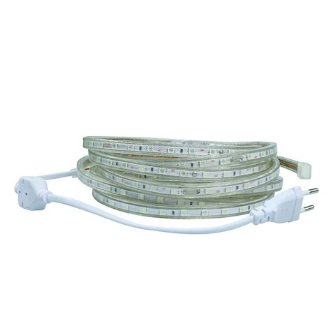 led putih smd 3014 with controller eu 220v 10m
