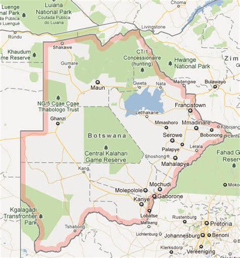 botswana map botswana flag botswana culture and botswana history botswana map countryaah