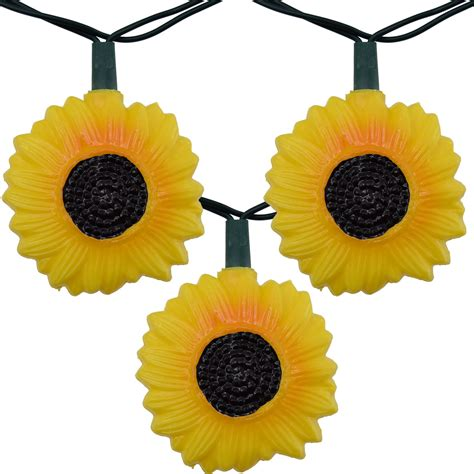 Sunflower Lights Sunflower Party String Lights