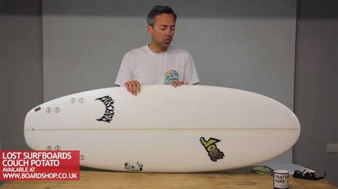 lost couch potato lost couch potato surfboard review youtube