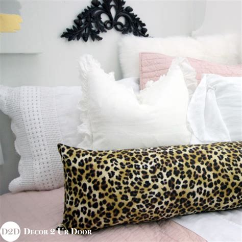 Cheetah Print Bed Set Blush Pink Cheetah Print Designer Bedding Se
