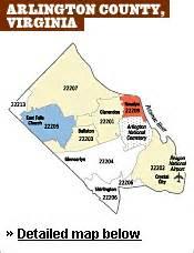 arlington zip code map 2007 housing outlook arlington county city of alexandra