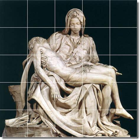 michelangelo sculptures rear view michelangelo and famous art michelangelo sculpture tile mural 8