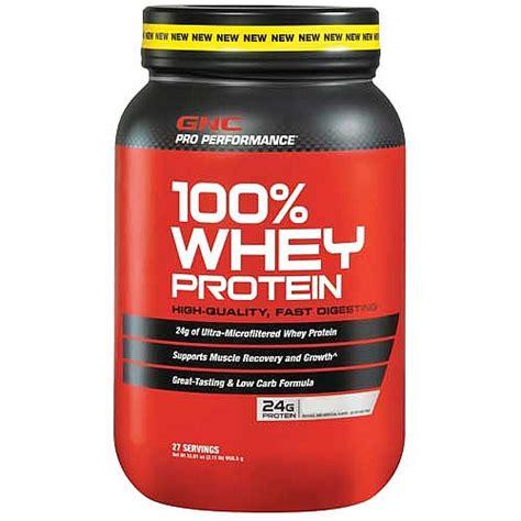 Whey Gnc gnc pro performance 174 100 whey protein vanilla 2