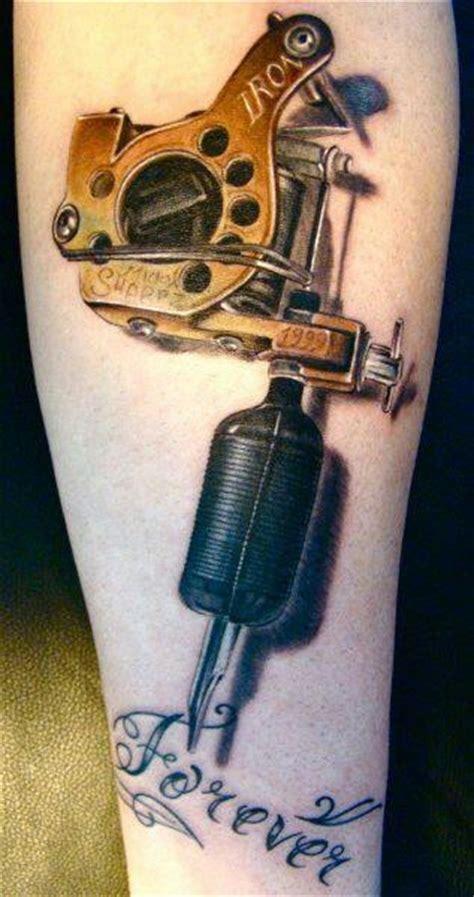 3d Tattoo Gun | 3d tattoo gun crazy tattoos pinterest