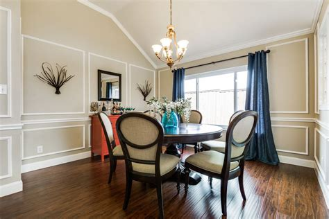 dining rooms with chair rails dining room with chair rail cathedral ceiling in plano