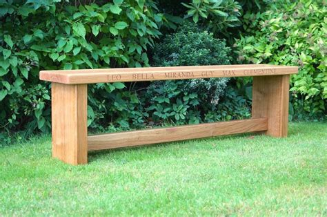 personalised garden bench personalised garden bench 28 images custom outdoor benches by hooper hill custom