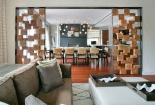Kitchen and living room iding wall ideas home design and decor