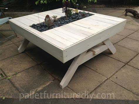 15 Recycled Pallet Planter Ideas For A Unique Garden Pallet Patio Table