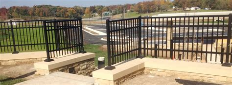 Post Office Owasso by Commercial Owasso Fence