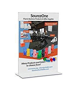 One Source Office Products by Source One 5 X 7 Upright Table Tents Sign