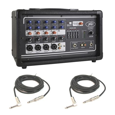 Daftar Audio Mixer Peavey peavey pv5300 pro audio dj 5 channel powered mixer