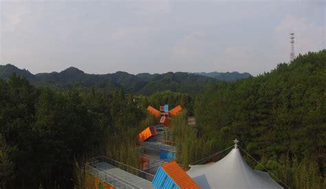 qiyun mountain camp lot ek architecture design