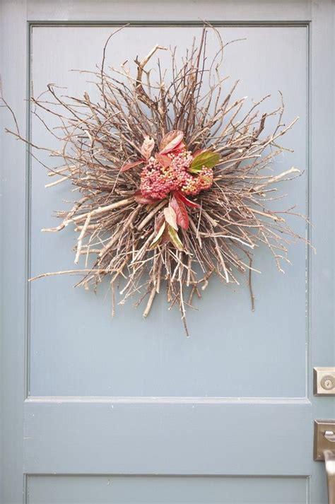 diy twig wreath diy door wreath entryway ideas pinterest